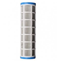 """Screen Filter Stainless Steel Cleanable 40 Micron 10"""" x 2.5"""""""