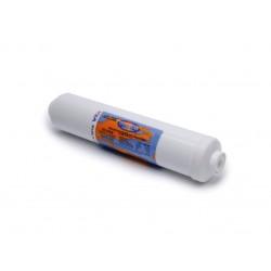 "Omnipure K2520 BB Inline Carbon Block Filter 1 Micron 1/4"" NPTF"