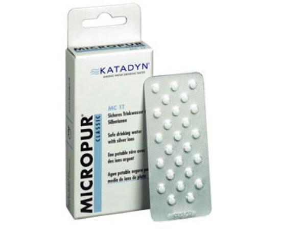 Katadyn Micropur Classic Purification Tablets 100 x 1L