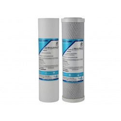 """Waterco Gemini Compatible Twin Replacement Water Filter Set 10"""""""