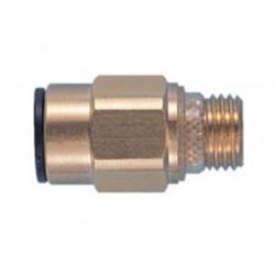 """JG 12mm x 1/2"""" Brass Straight Adaptor Male Super Thread RM011214"""