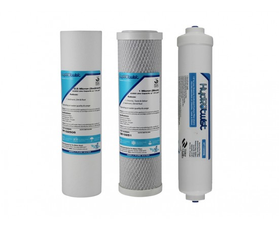 Standard Filter Kit suit 4 Stage Reverse Osmosis No Membrane 5m