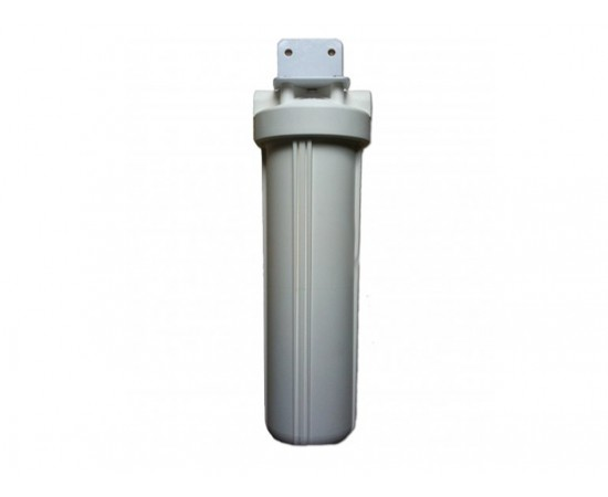 "Single Whole House Tank Rain Water Filter System 20"" Big White"
