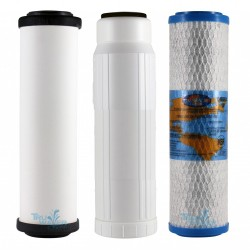 Doulton Fluoride Triple Counter Top Replacement Filter Set