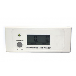 Senno In Line Dual TDS Meter Monitors In & Out Water Quality
