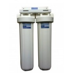 """Twin Scale Reduction Filter System 10"""" x 4.5"""" Premium Phosphate"""