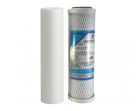"Aqua-Pure AP2200C Replacement Filter Set 0.5um AP110 AP187 10"""
