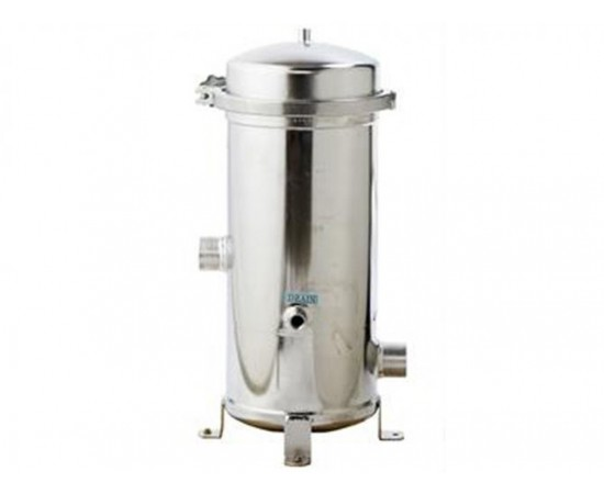 High Flow Cluster Filter Housing CF28 140GPM Stainless Steel