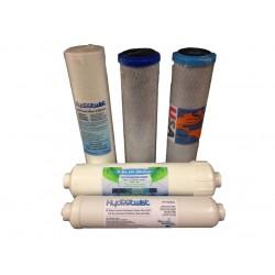 Premium USA Alkaliser 6 Stage Yearly Filter Set No Membrane