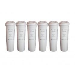 6 x Fisher & Paykel Genuine 836848 Fridge Water Filter CUNO