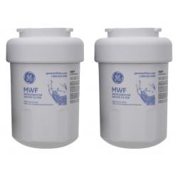 2 x GE MWF MWFP SmartWater Genuine Internal Fridge Water Filter