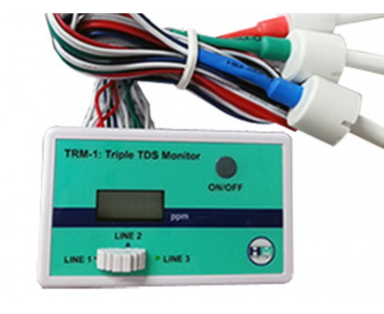 HM Digital Triple In Line TDS 3 Point Monitor TRM-1