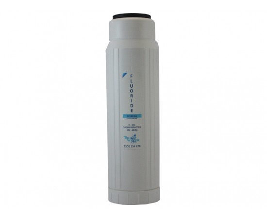 HydROtwist Fluoride Removal 75-85% Water Filter Cartridge 10""