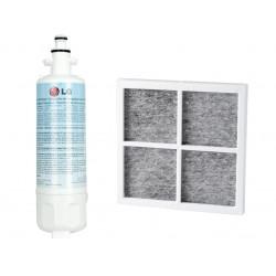 LG LT120F LT700P Replacement Fridge Air & Water Filter Set