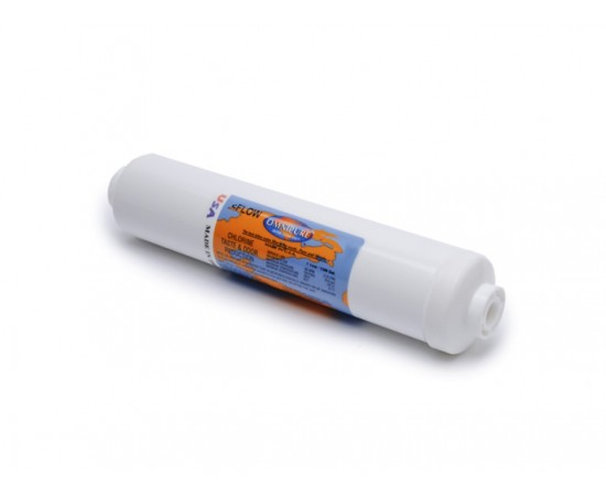 "Omnipure K2520 JJ Inline Carbon Block Water Filter 1 Micron 1/4"""