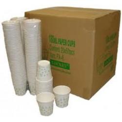 1 x Box Paper Cups 1000 Per Box Standard Water Cooler 180ml