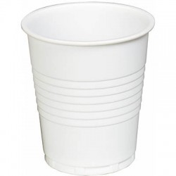 1 x Box 1000 Plastic Cups 200ml Water Dispenser Cooler Cups