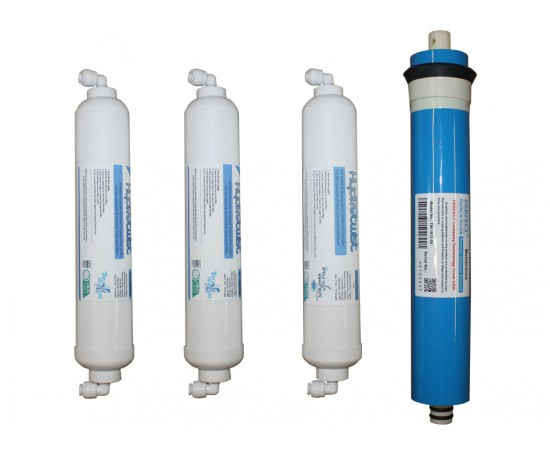 HydROtwist CTRO4 Countertop RO Filter Set 4 Stage with Membrane