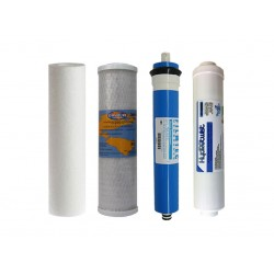Premium Filter Kit To Suit 4 Stage Reverse Osmosis with Membrane