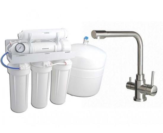 RO5000 Reverse Osmosis 5 Stage Water Filter & 3 Way Mixer Ta