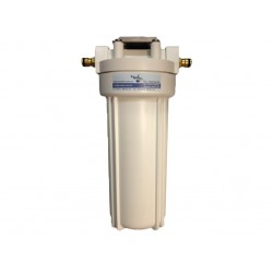 Single Caravan or RV Water Filter System - Hose Connections