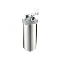 """316 Stainless Steel Hose Compatible Water Filter System 10"""""""