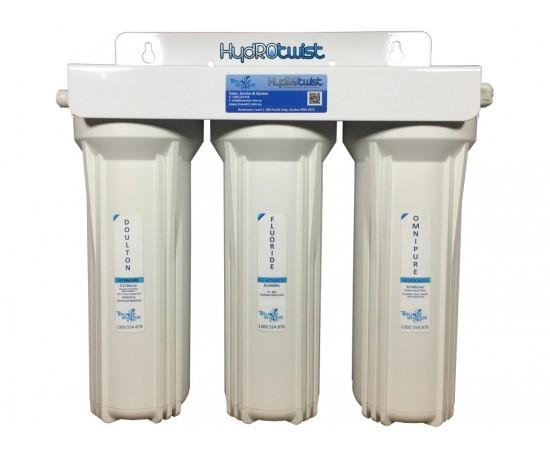 Doulton Ceramic Superblock Triple Undersink Water Filter System