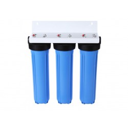 Whole House Rain Water Tank Filter System Triple Slim 20""