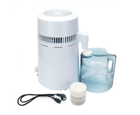 HydROtwist Steam Purifier Distiller White With Plastic Bottle