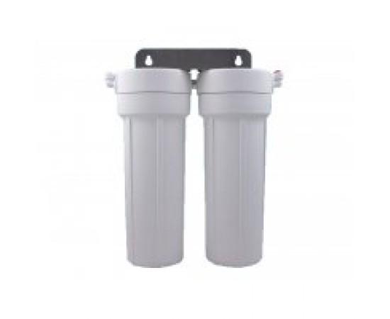 HydROtwist Twin Under Sink Water Filter Ceramic & Chloramine